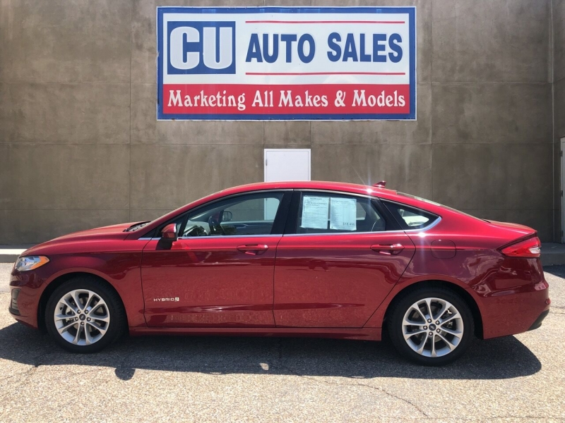 Ford Fusion Hybrid 2019 price $18,495