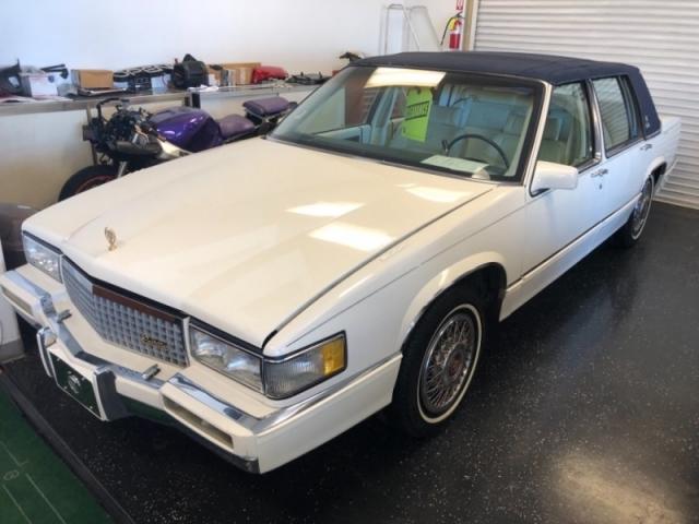 Cadillac Las Vegas >> 1989 Cadillac Deville 4dr Sedan