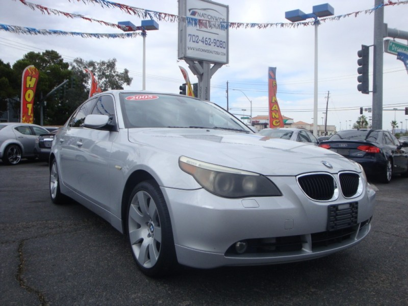 2005 Bmw 5 Series 530i 4dr Sdn Inventory Quality Used Cars Las