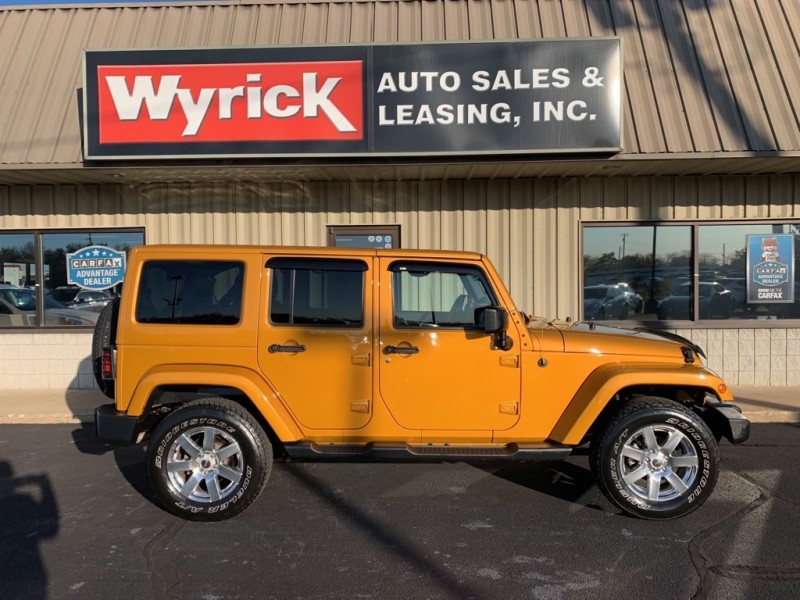 JEEP WRANGLER UNLIMI 2014 price $26,945