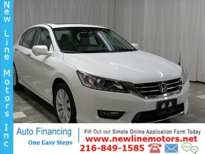 2015 Honda Accord Sedan 4dr V6 Auto EX-L 10K SUNROOF HEATED LEATHER