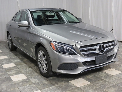 2015 Mercedes-Benz C-Class 300 Luxury 4MATIC 33k NAVIGATION REAR CAM HEATED LEATHER LOADED SHARP