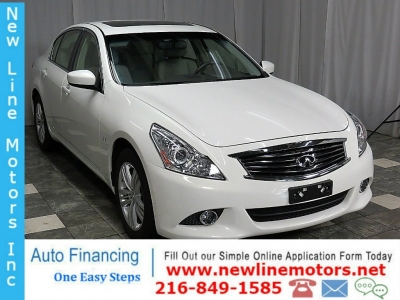 2015 INFINITI Q40 AWD 16K NAVIGATION REAR CAMERA HEATED LEATHER SUNROOF