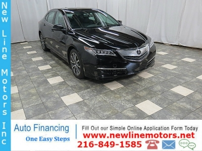 2015 Acura TLX FWD V6 27K MOON ROOF LEATHER HEATED SEAT BACK-UP CAMERA