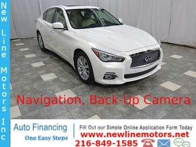 2015 INFINITI Q50 Sedan AWD 18K Premium  Navigation Back-Up Camera
