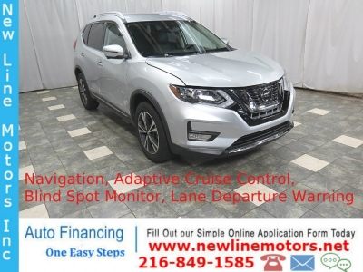 2018 Nissan Rogue AWD SL Navigation Adaptive Cruise Control Premium Sound