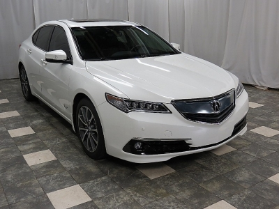 2015 Acura TLX 4dr V6 Advance 38K NAVIGATION CAM LANE DEPARTURE BLIS AND MORE