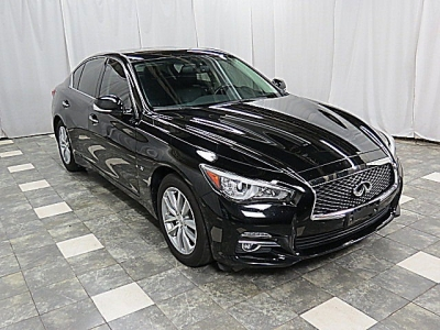 2015 INFINITI Q50 AWD PREMIUM 34K WRNTY NAVIGATION REAR CAME SUNROOF HEATED LEATHER