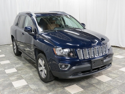 2016 Jeep Compass 4WD HIGH ALTITUDE 16K NAVIGATION REAR CAMERA SUNROOF HEATED SEATS