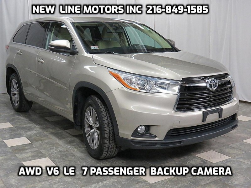 Toyota Highlander 2014 price $16,995