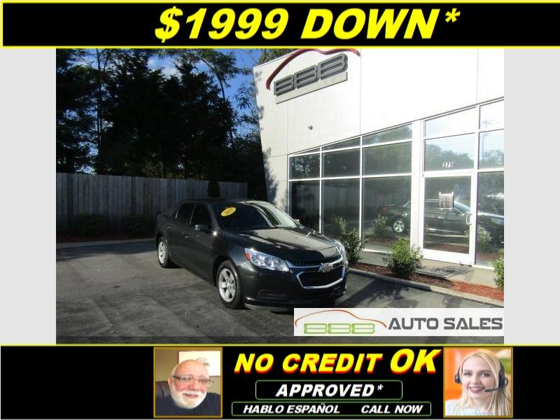 Smyrna Auto Sales >> 2015 Chevrolet Malibu 1lt