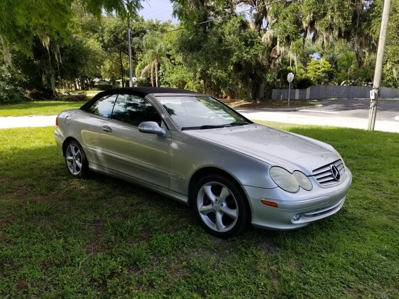 Mercedes-Benz CLK-Class 2005 price $3,350