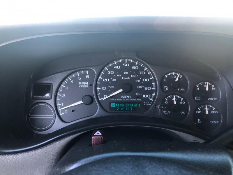 Chevrolet Tahoe 2002 price $4,495