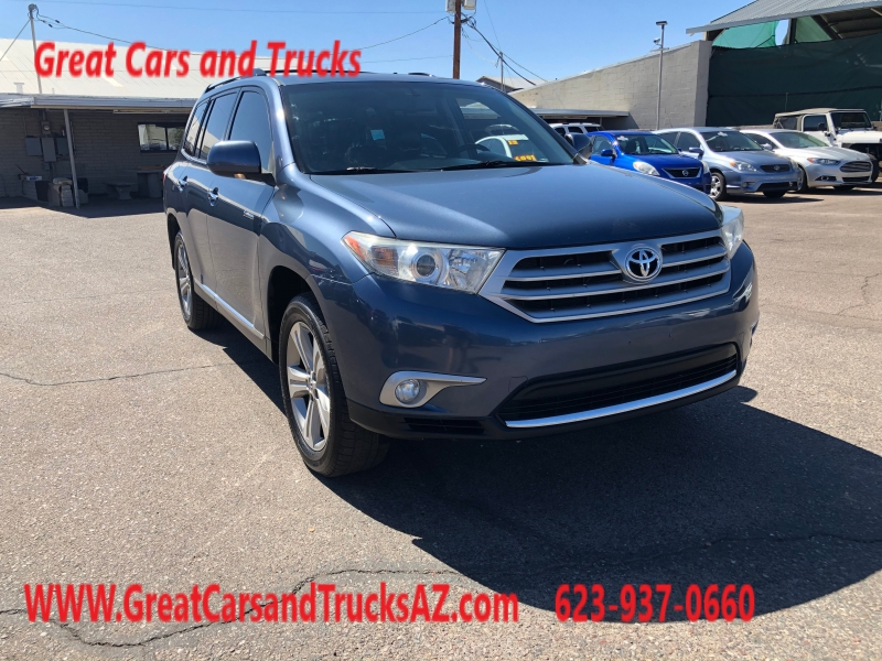 Toyota Highlander 2013 price $11,991