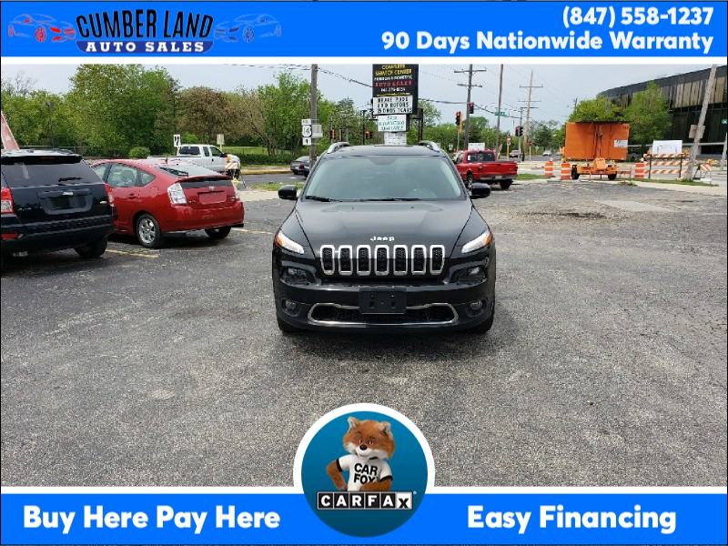 Jeep Cherokee 2017 price $13,995