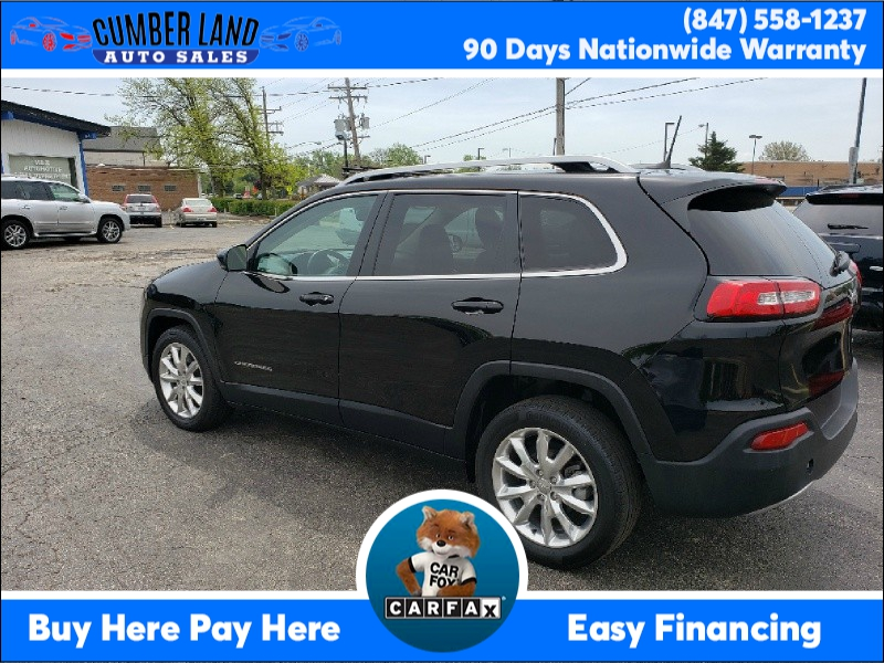 Jeep Cherokee 2017 price $13,595