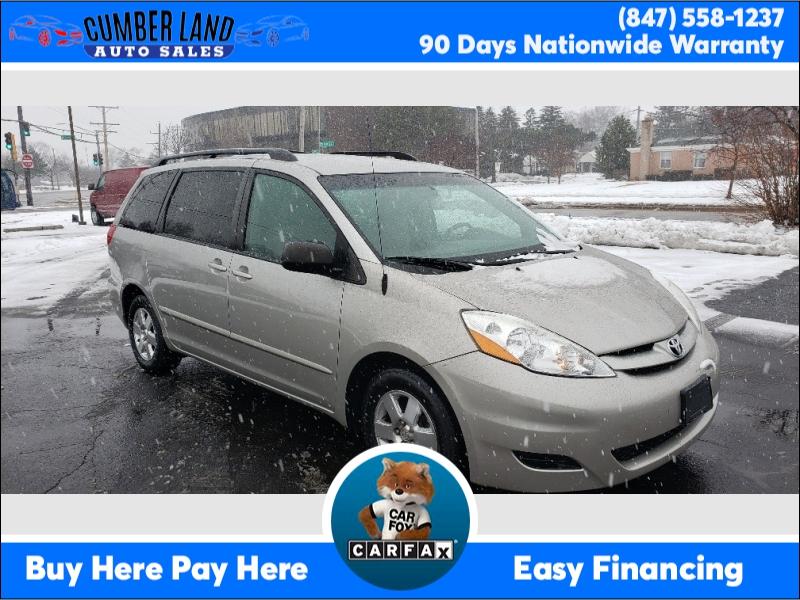 Toyota Sienna 2007 price $8,595