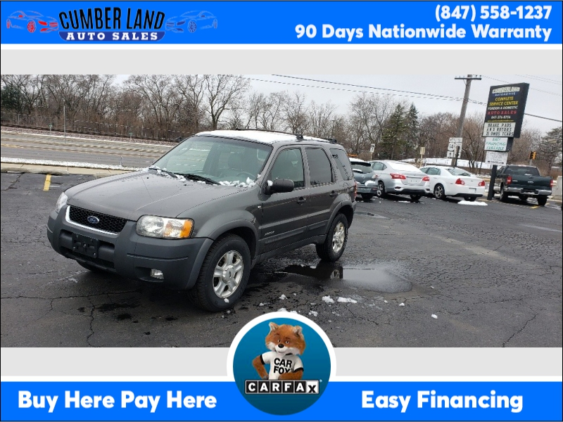 Ford ESCAPE 2002 price $1,795