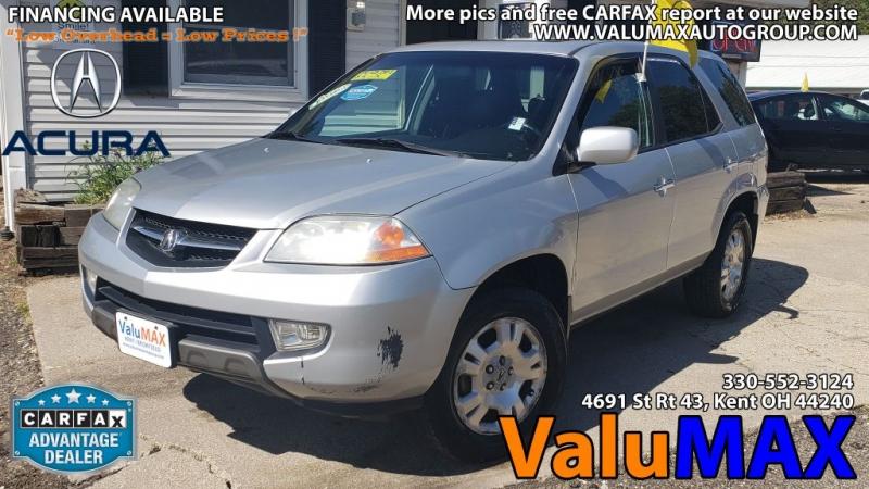 Acura MDX 2002 price $4,750