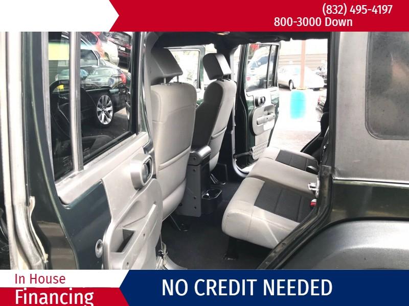 Jeep Wrangler Unlimited 2010 price $3,500