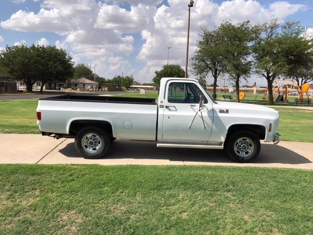 GMC SIERRA 2500 1979 price $7,500