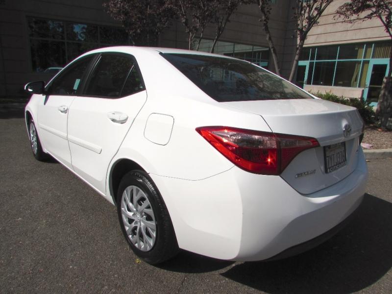 Toyota Corolla 2018 price $0