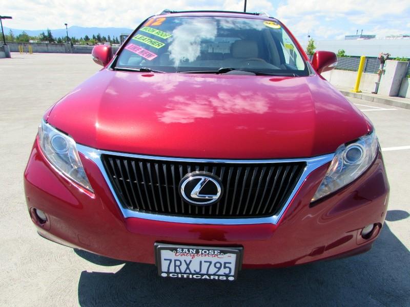 Lexus RX 350 2012 price $0