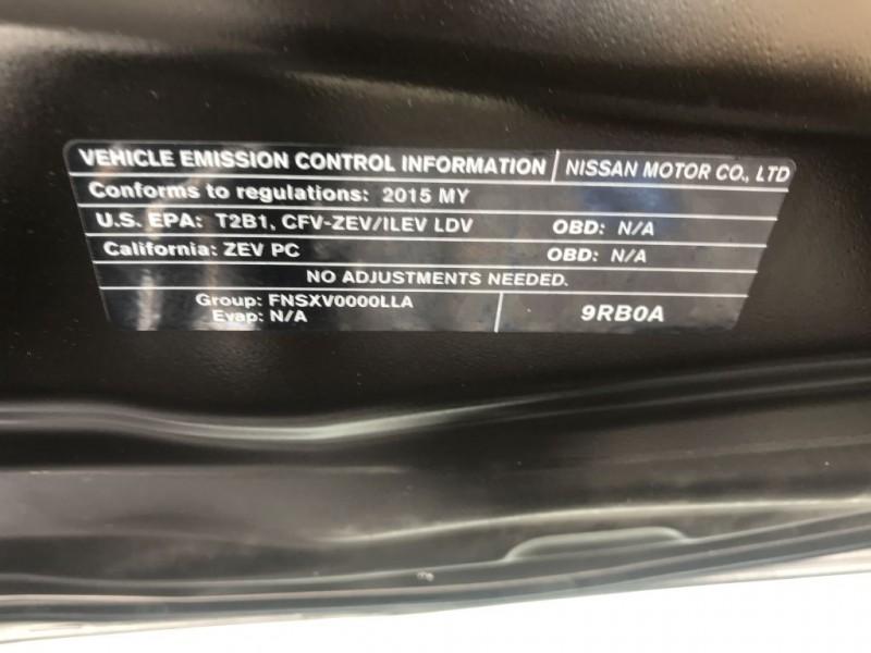 Nissan LEAF 2015 price $7,500