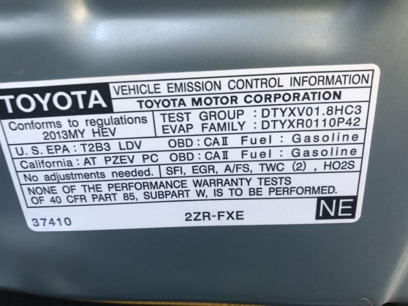 Toyota PRIUS 2013 price $9,000
