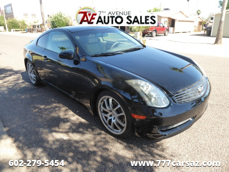 Infiniti G35 Coupe 2007 price $9,995