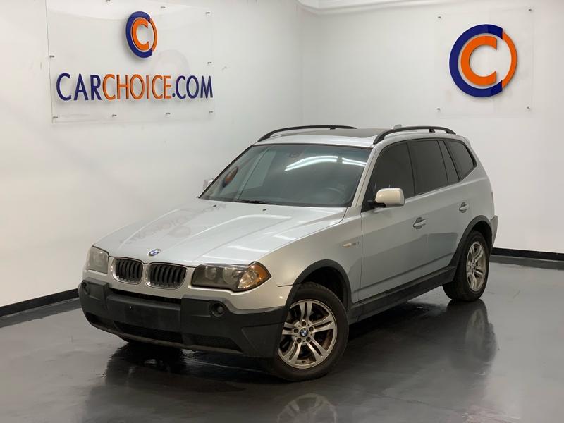 BMW X3 2005 price $4,500