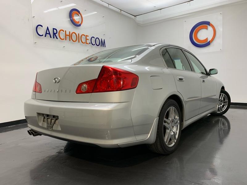 INFINITI G35 2006 price $4,900