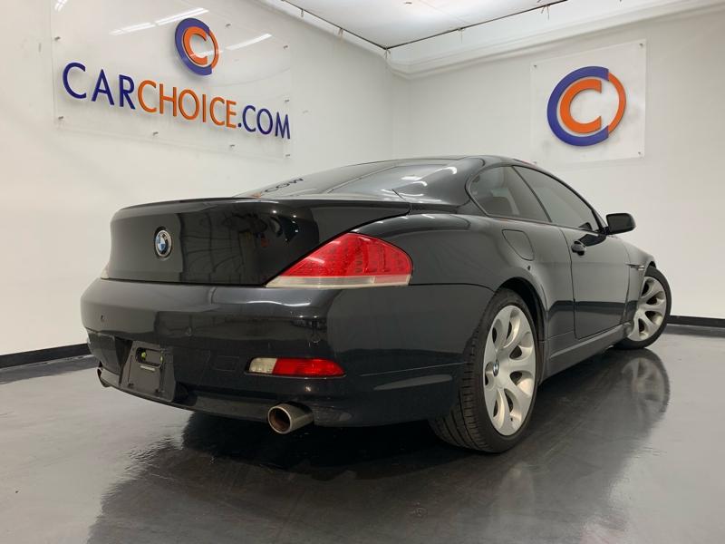 BMW 650 2007 price $11,900