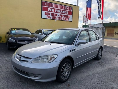 2005 Honda Civic EX Special Edition 4dr Sedan