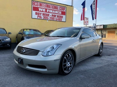 2005 Infiniti G35 Base Rwd 2dr Coupe