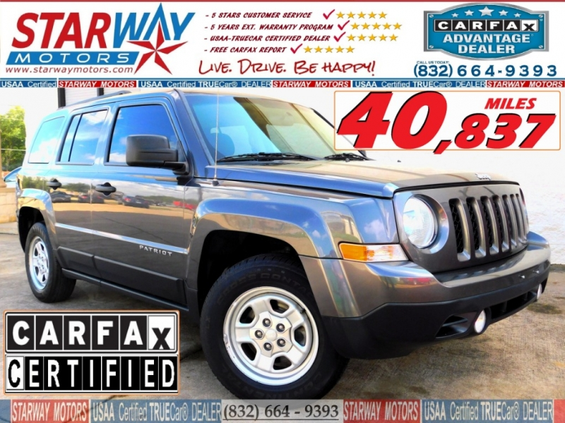 Jeep Patriot 2016 price $10,490