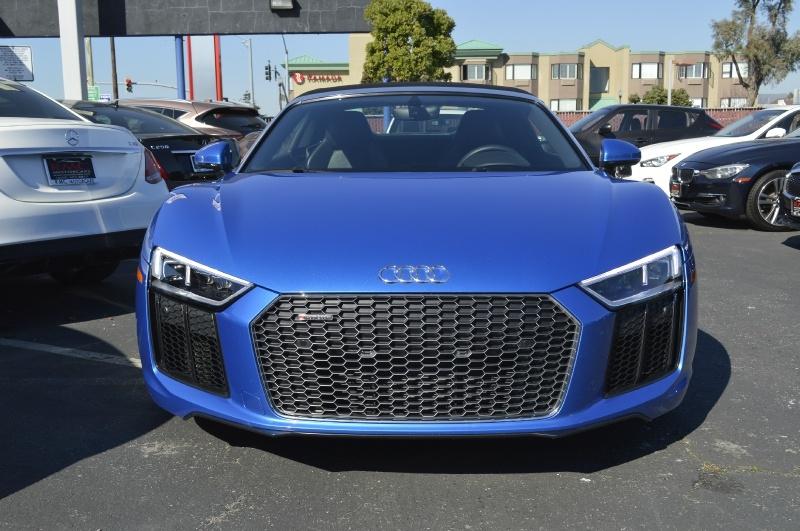 Audi R8 Spyder 2018 price $126,880