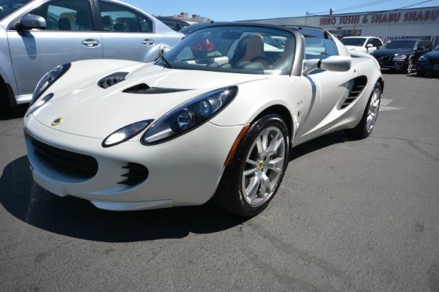 2008 Lotus Elise SC Convertible LOW 12k Mi PearL White PRISTINE ...