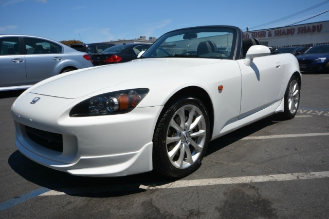 2007 Honda S2000 Convertible White W Red Interior 1 OWNER Low Miles