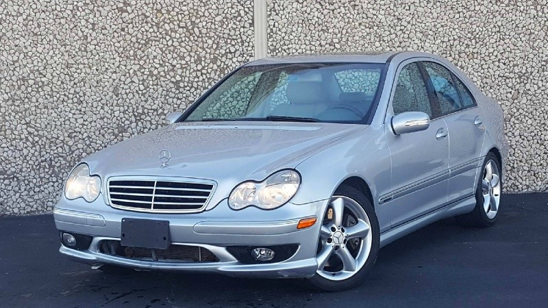 2006 mercedes benz c230 sport only 81 miles used bmw for Mercedes benz 2006 c230 sport