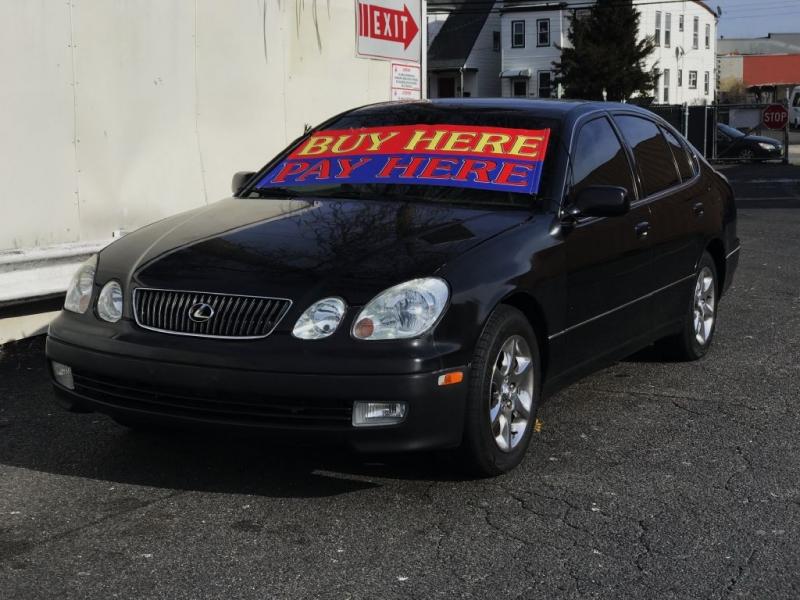 2004 lexus gs 300 auto market street auto dealership in paterson new jersey. Black Bedroom Furniture Sets. Home Design Ideas