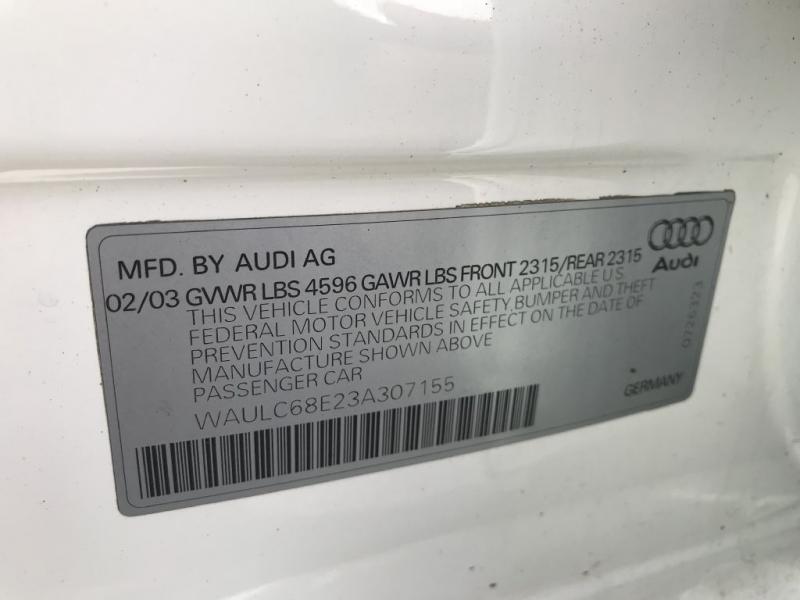 AUDI A4 2003 price $2,495