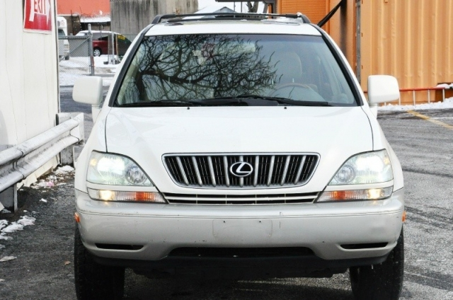 2001 lexus rx300 awd low miles white/tan ext nationwide warranty