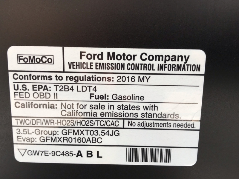 Ford F-150 2016 price $39,991