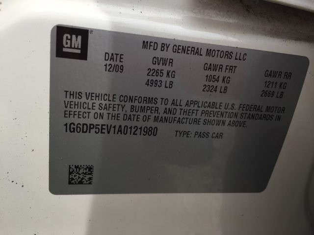 Cadillac CTS Sedan 2010 price $6,700