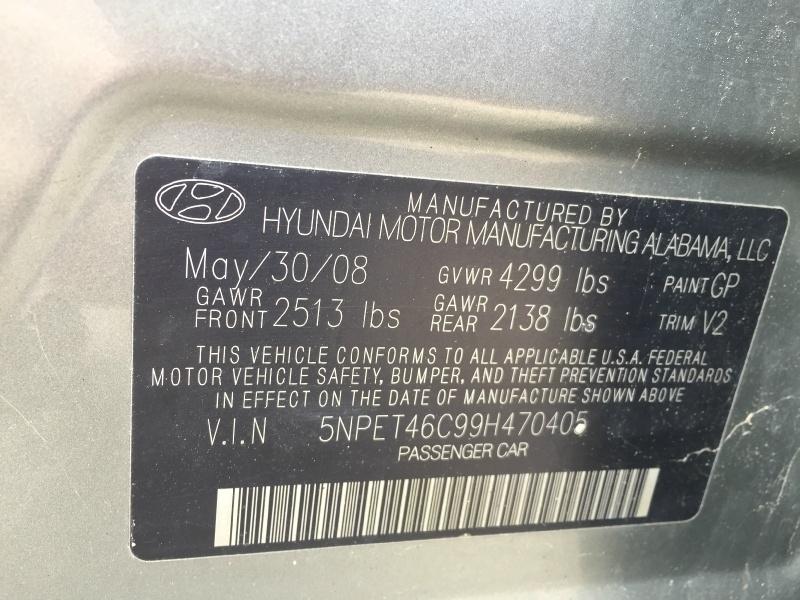 Hyundai Sonata 2009 price $1,600