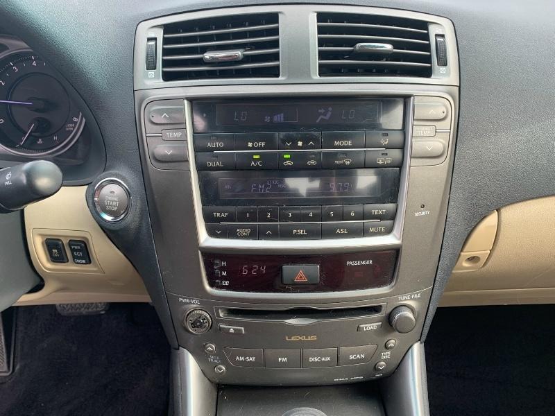 Lexus IS 250 2008 price $6,500