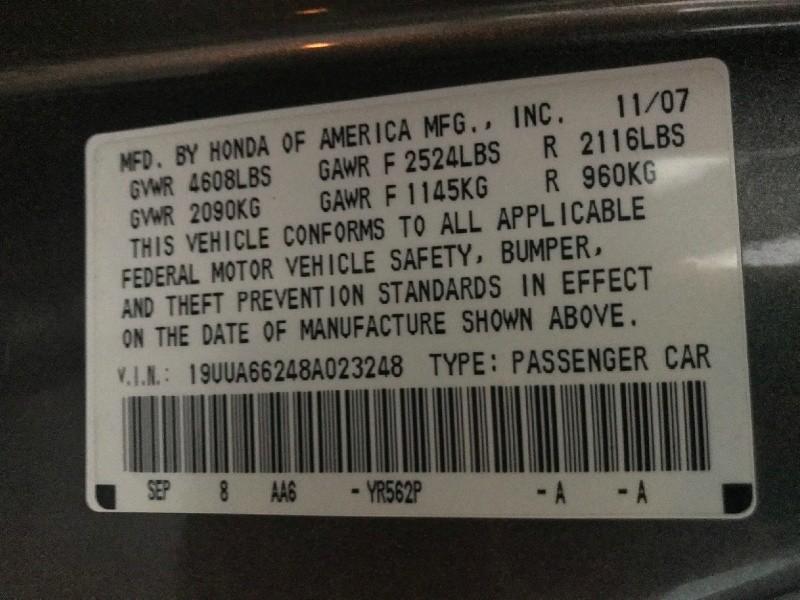 Acura TL 2008 price $5,995
