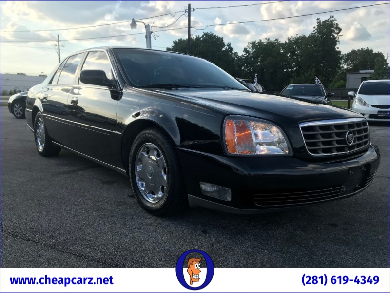 Cadillac DeVille 2002 price $6,995