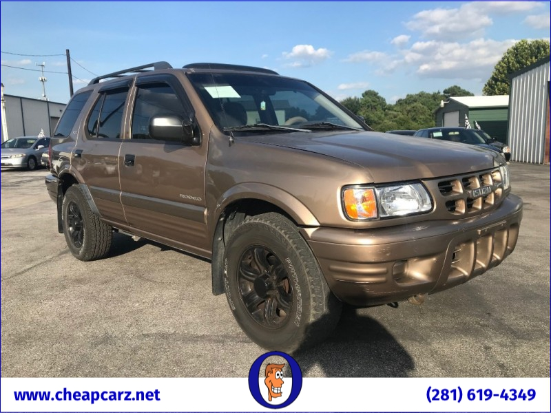 Isuzu Rodeo 2001 price $3,495